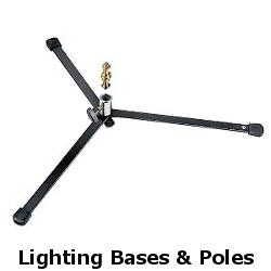 lighting bases and poles