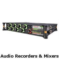 audio recorders and mixers