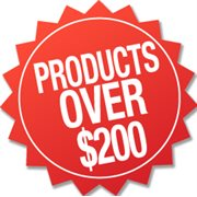 Products over $200