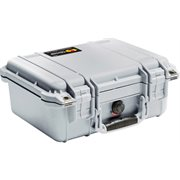PELICAN # 1400 CASE NO FOAM - SILVER