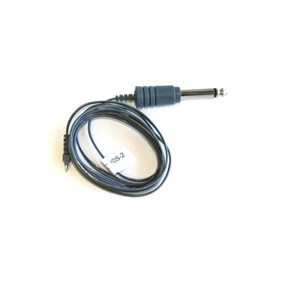 Audio Implements HDS-2 Cable Straight Mono 6.3mm Plug