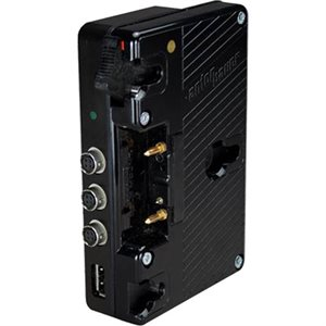 Ambient Recording Anton Bauer battery mount, 6 x Hirose