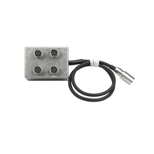 Ambient Recording Hirose distribution box, 4x4-pin sockets w lead to Hirose4M