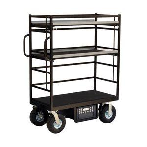 Head Mini Cart with foam filled wheels