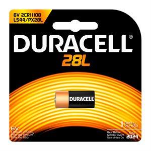 DURACELL 28L 6V LITHIUM BATTERY