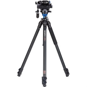 BENRO A2573F Series 2 AL Video Tripod & S6 Head
