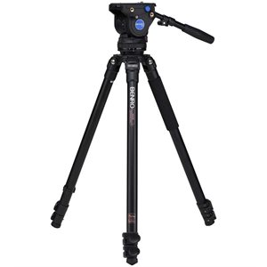 A373F Series 3 Aluminium Single Tube Video Tripod with BV4 head