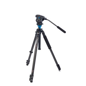 BENFRO C2573F Series 2 CF Video Tripod & S4 Head