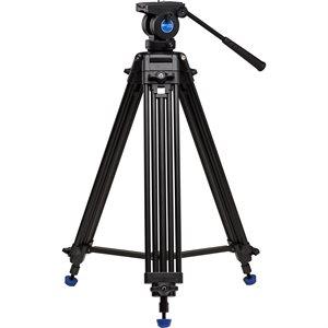 KH25N Video Tripod & K5 Head - 60mm Bowl, Dual Stage, Quick Lock Leg Release