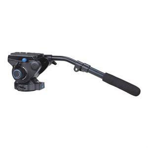S6 - 6Kg Video Head (Stepped - 0, 2.5Kg, 4.5Kg, 6Kg) [+90° / -50° Tilt Range]