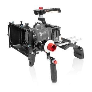 Shape SHAPE Blackmagic Pocket cinema 4k shoulder mount, matte box, follow focus