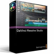 DaVinci Resolve Studio (with Dongle) (limited time free bundle with Davinci Resolve Speed Editor)