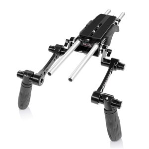 Shape Compact REVOLT shoulder baseplate with HAND15 shadow