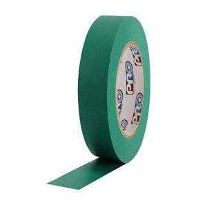 "PRO Tape Pro 46 Dark Green Colored Crepe Paper Masking Tape 1"" 54m / 60YRD - 3"" Core"