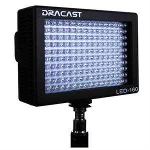 DRACAST LED160 DAYLIGHT 5600K (PLASTIC)