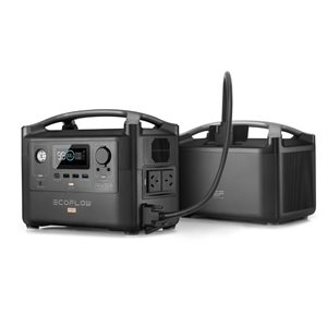 EcoFlow River600 PRO Portable Power Station Extra battery combo