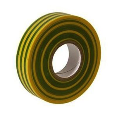 ELECTRICAL INSULATION TAPE: GREEN / YEL