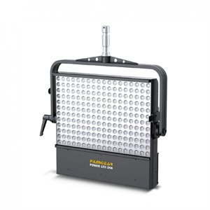"""240 POWER LED"""", (BI-COLOR),HEADSTIRRUP WITH Ø28MM SPIGOT, FILTER FRAME, SAFETY WIRE AND POWER CABLE"""