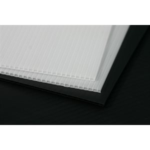 CORE FLUTE WHITE 2440 X 1220 X 5mm