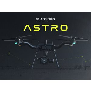 Freefly Astro Base Kit - Astro with controller, battery pair and charger, hard case