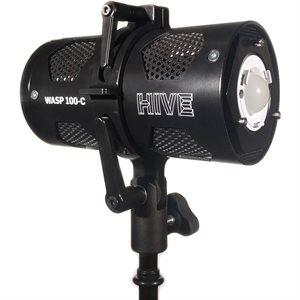 WASP 100-C Open Face Omni-Color LED Light