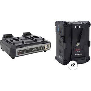 IDX Kit 2x IPL-98 and 1x VL-2000S