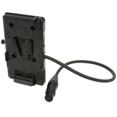 IDX V-MOUNT ADAPTOR W / XLR CABLE ATOMOS SUMO (BATWING)
