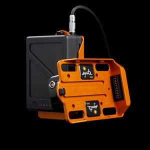 Ignite Digi TB50 Battery to Movi Pro adapter (Lemo) Orange