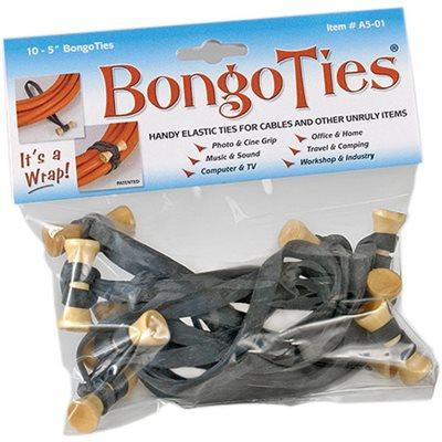 BongoTies Black 10-Pack