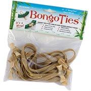 BongoTies Natural 10-pack