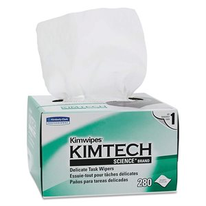 KIMBERLY-CLARK KIMWIPES LINT FREE WIPES