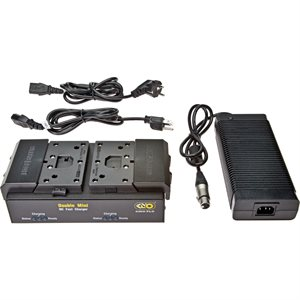 Kino Flo BAT-BC2U Block / Kf21 Dual Fast Charger With 100-240Vac Power Supply. EXISTING STOCK ONLY
