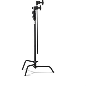 "20"" C stand w /  Sliding Leg Kits (Black)"