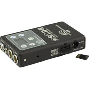 LECTRO STEREO PORTABLE DIGITAL RECORDER, ANALOG OR AES3 INPUTS