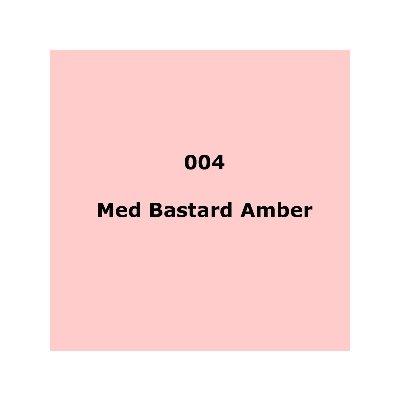 """004 Medium Bstd. Amber sheet, 1.2m x 530mm / 48"""" x 21"""""""