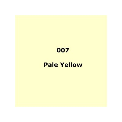 Lee Filters 007 Pale Yellow Sheet