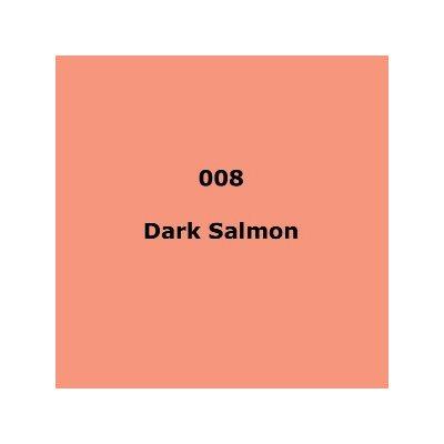 008 Dark Salmon roll, 1.22m X 7.62m / 4' X 25'