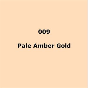 Lee Filters 009 Pale Amber Gold Roll - High Temperature