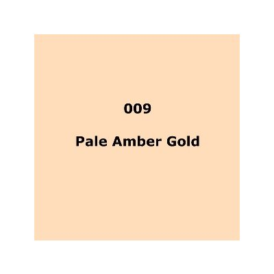 009 Pale Amber Gold roll, 1.22m X 7.62m / 4' X 25'