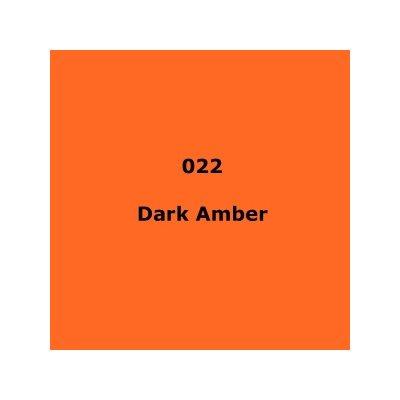 "022 Dark Amber roll, High Temperature, Dark Amber, 1.17m X 4m / 46"" X 13'"