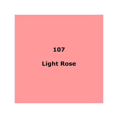 Lee Filters 107 Light Rose roll