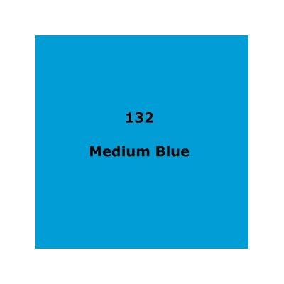 132 Medium Blue roll, 1.22m X 7.62m / 4' X 25'