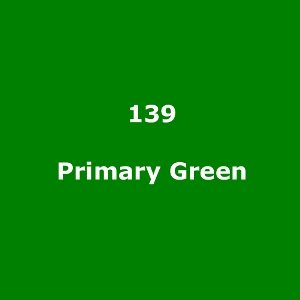 139 Primary Green roll, 1.22m X 7.62m / 4' X 25'