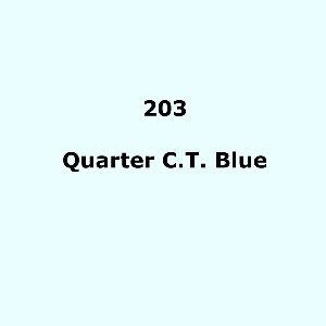 203 Quarter C.T.Blue roll, 1.22m X 7.62m / 4' X 25'
