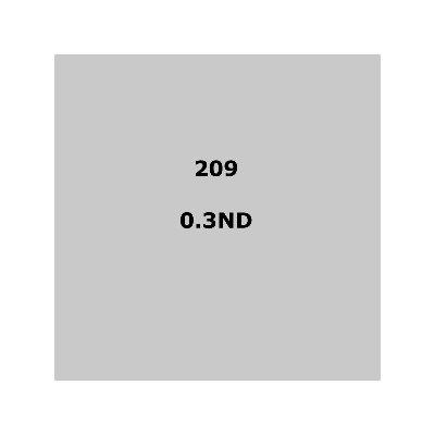 """209 .3ND sheet, 1.2m x 530mm / 48"""" x 21"""""""