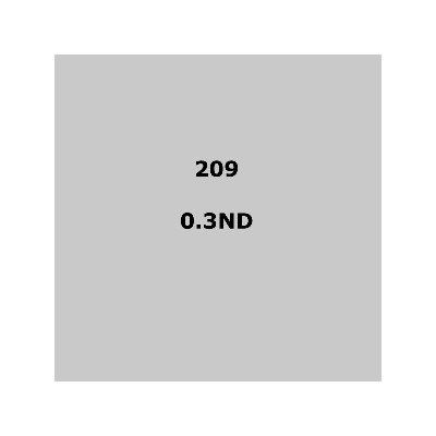 Lee Filters 209 .3ND Sheet