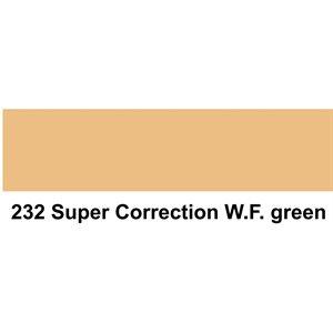 "232 Super Correction White Flame Green sheet, 1.2m x 530mm / 48"" x 21"""