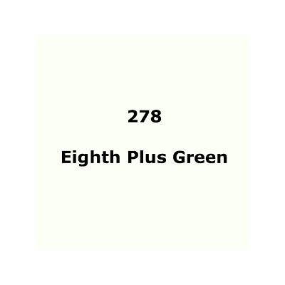 "278 Eighth Plus Green sheet, 1.2m x 530mm / 48"" x 21"""