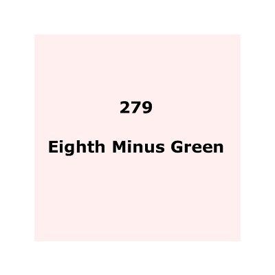 Lee Filters 279 Eighth Minus Green Sheet