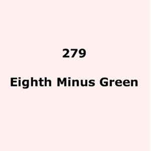 "279 Eighth Minus Green sheet, 1.2m x 530mm / 48"" x 21"""